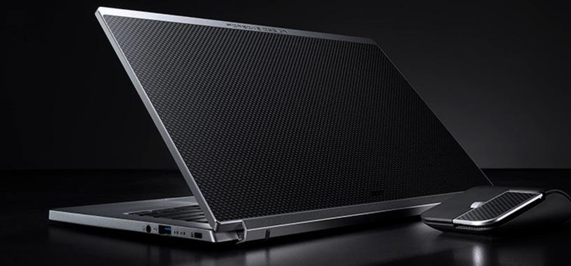 Acer presenta el ultraportátil Book RS diseñado junto a Porsche Design con certificado Evo de Intel