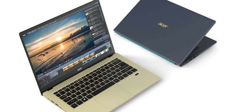 Acer presenta el Swift 3X con gráfica dedicada Iris Xe MAX de Intel