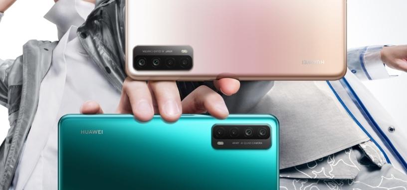 Huawei presenta el Y7a, con Kirin 710A, 5000 mAh y cámara de 48 Mpx