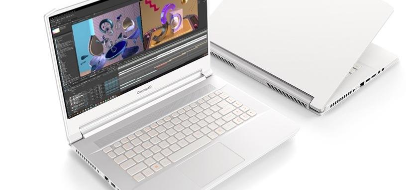 Acer expande su línea ConceptD con dos portátiles con RTX 2080 Super o Quadro RTX 5000