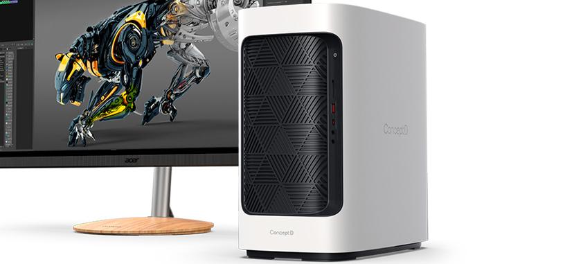 Acer presenta el ConceptD 300 con Core i7 y una RTX 3070