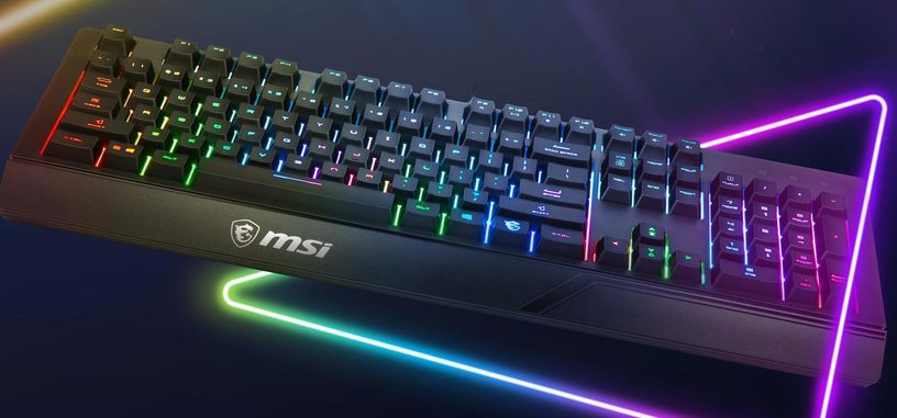 MSI presenta el teclado Vigor GK20