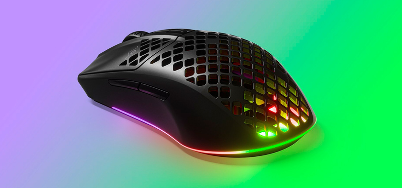 SteelSeries presenta el ratón Aerox 3, ultraligero en versiones cableada e inalámbrica