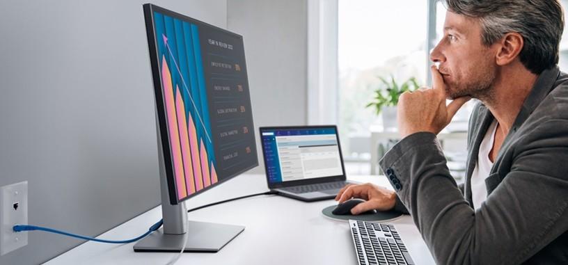 Dell pone a la venta el monitor U2421E, para oficinas con carga USB-C de 90 W