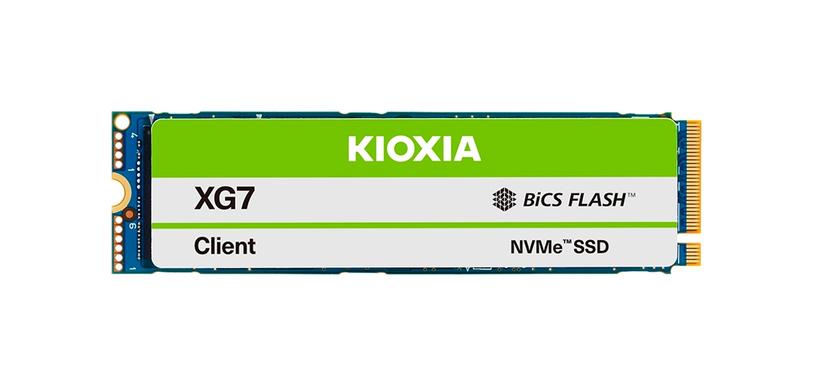 Kioxia anuncia la serie XG7 de SSD de tipo PCIe 4.0