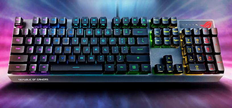 ASUS presenta el teclado mecánico ROG Strix Scope RX con interruptores ROG RX