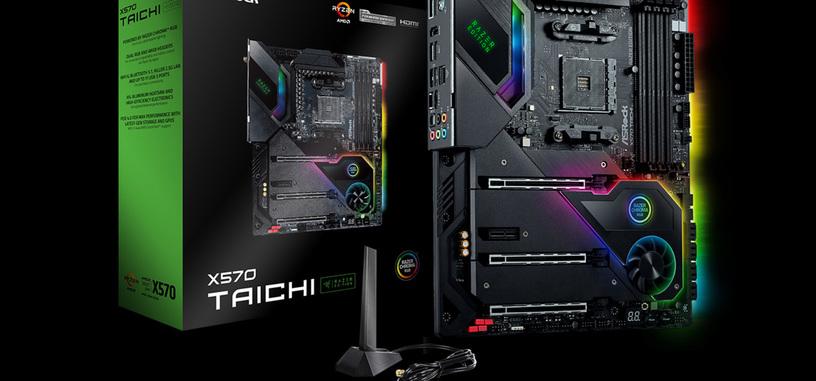 ASRock presenta las placas base B550 y X570 Taichi edición Razer