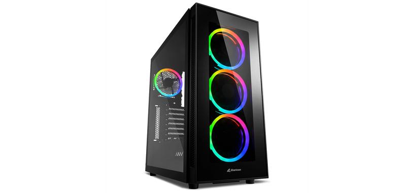 Sharkoon presenta la caja TG5 RGB Silent PCGH
