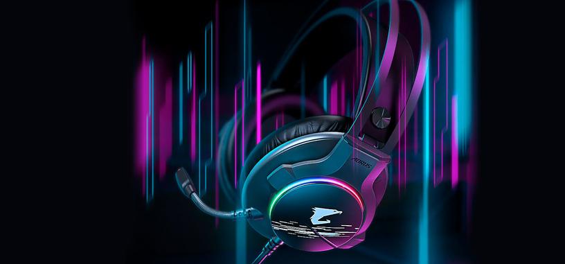 Gigabyte presenta los auriculares AORUS H1