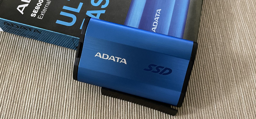 Análisis: SE800 (512 GB) de ADATA, SSD externa USB-C