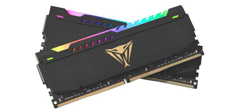 Patriot expande su gama de módulos de RAM con la serie Viper Steel RGB
