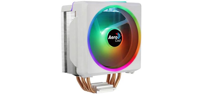 Aerocool anuncia la refrigeración Cylon 4F en blanco con iluminación ARGB