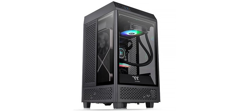 Thermaltake anuncia la caja Tower 100 para placas base mini-ITX