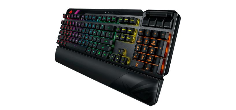 ASUS presenta el ROG Claymore II, teclado mecánico inalámbrico con el numérico retirable