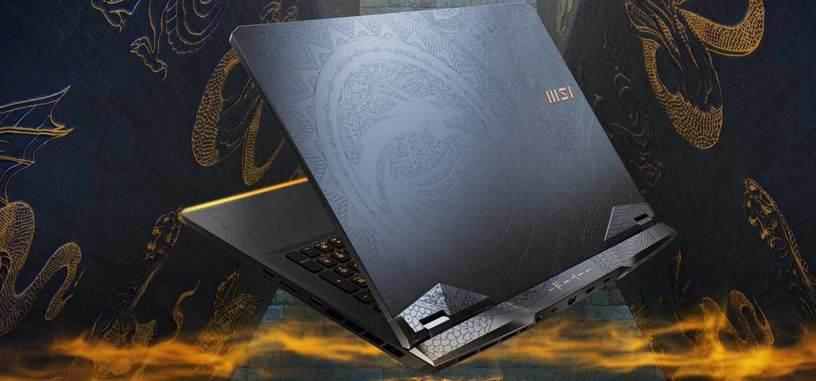 MSI anuncia el GE76 Raider Tiamat, portátil con hasta un Core i9, una RTX 3080 y pantalla de 300 Hz