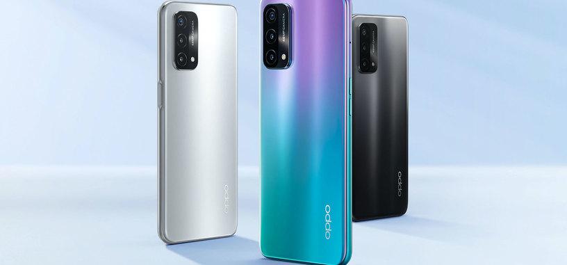 OPPO anuncia el A93 5G con Snapdragon 480 y pantalla de 90  Hz