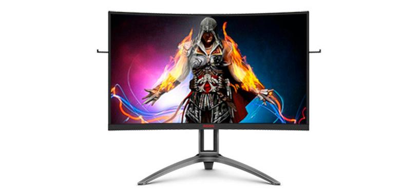 AOC presenta el monitor curvo AG323QCX2 de 31.5˝ VA QHD de 155 Hz