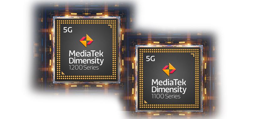 Mediatek anuncia los procesadores Dimensity 1100 y Dimensity 1200, con 5G y a 6 nm