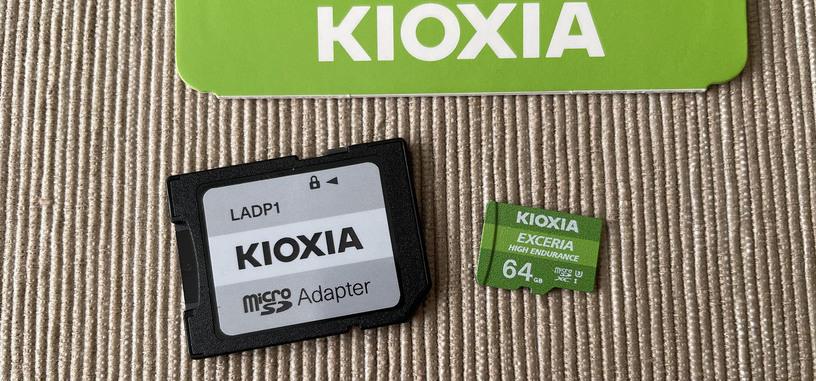 Reseña: Exceria High Endurance (64 GB) de Kioxia