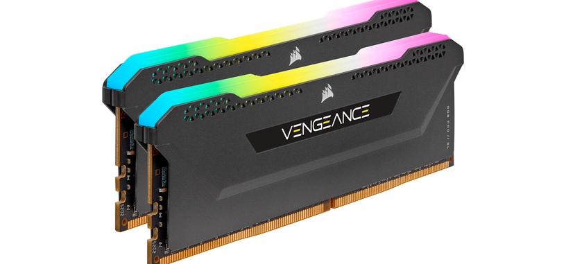 Corsair anuncia la serie Vengeance RGB PRO SL de memoria DDR4 a 3200/3600 MHz