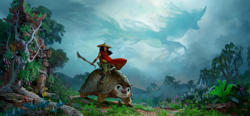 Disney apuesta por el estreno simultáneo para 'Raya y el último dragón', y presenta nuevo tráiler