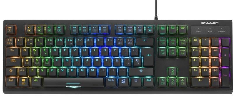 Sharkoon presenta el teclado Skiller SGK30