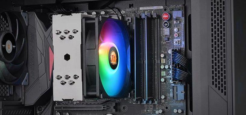 Thermaltake presenta la refrigeración UX210 ARGB