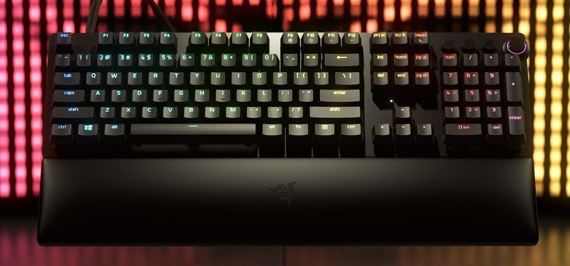 Razer anuncia el Huntsman v2 Analog con interruptores ópticos analógicos