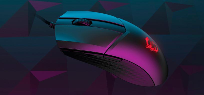 MSI anuncia el ratón Clutch GM41 Lightweight