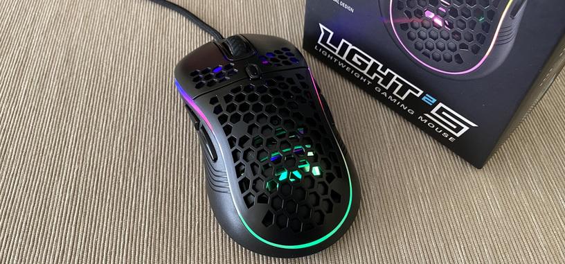 Análisis: Light² S de Sharkoon, ratón económico ultraligero con ARGB