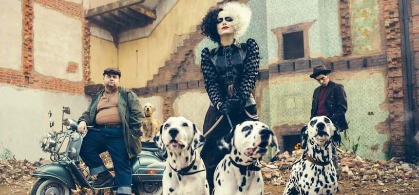 Tráiler de 'Cruella', Emma Stone se pone la piel de la villana de '101 dálmatas'