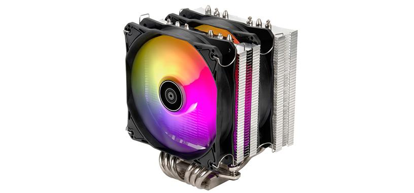 SilverStone presenta la refrigeración Hydrogon D120 ARGB, de doble ventilador