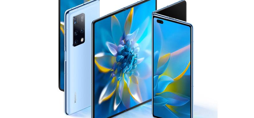 Huawei presenta el Mate X2, cambia totalmente el diseño de su móvil de pantalla plegable