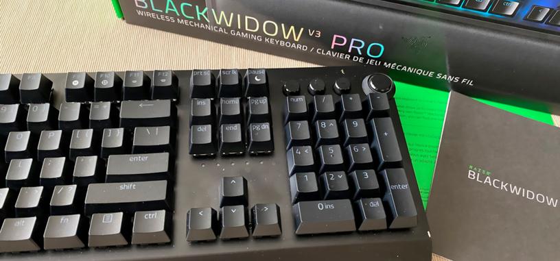 Análisis: BlackWidow v3 Pro de Razer