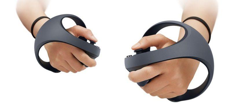 Este es el aspecto que tendrán los mandos de la realidad virtual de PlayStation 5