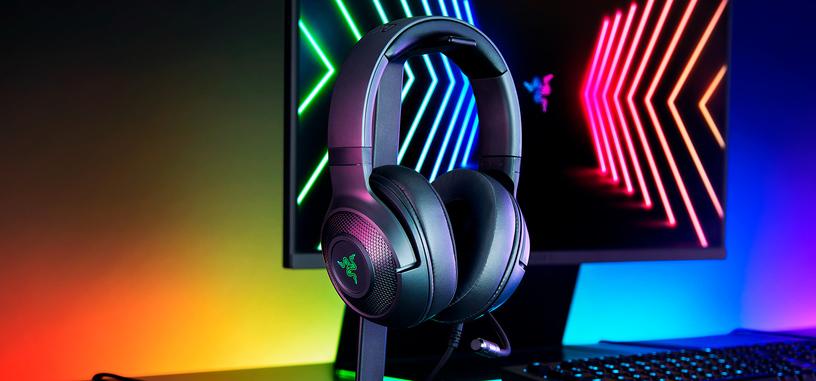 Razer anuncia los auriculares Kraken v3 X con sistema 7.1 TriForce e iluminación RGB
