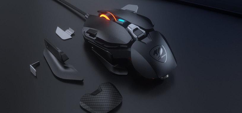 Cougar presenta el ratón DualBlader totalmente ajustable