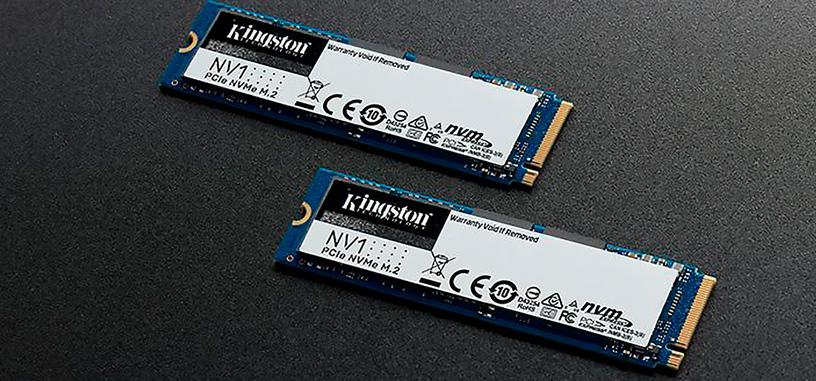 Kingston presenta la serie económica NV1 de SSD tipo PCIe 3.0