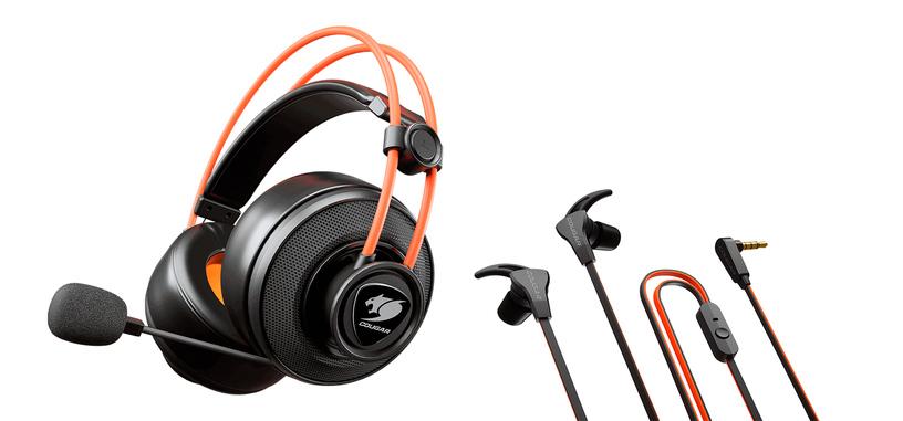 Cougar presenta el lote IMMERSA TI EX de dos auriculares