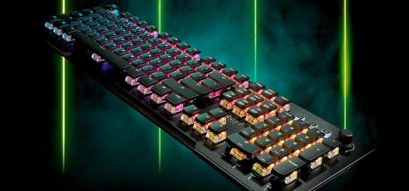 Roccat presenta el teclado mecánico Vulcan Pro con interruptores ópticos