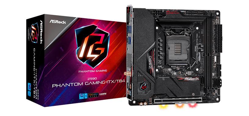 ASRock anuncia dos nuevas placas base Z590, una de ellas ITX con Thunderbolt 4