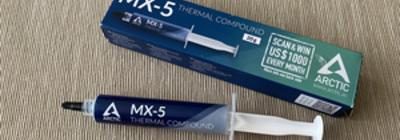 Análisis: pasta térmica MX-5 de ARCTIC