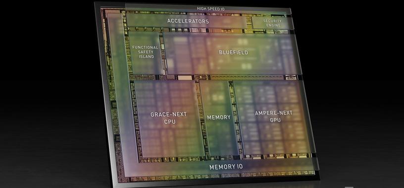 NVIDIA promete con DRIVE Atlan poner la potencia de un centro de datos en vehículos autónomos