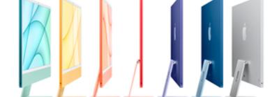 El iMac ya cuenta con un colorido nuevo diseño ultrafino y Apple le añade el M1