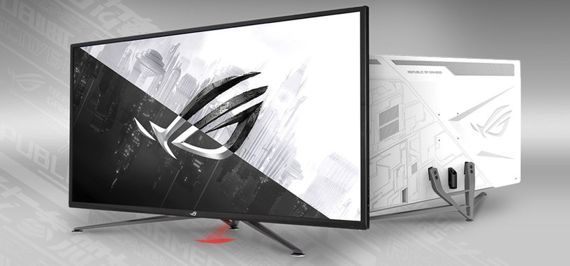 ASUS presenta el monitor ROG Strix XG43UQ, 4K a 144 Hz con DisplayHDR 1000 y HDMI 2.1