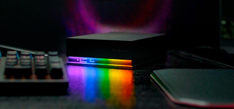 Seagate anuncia nuevo disco duro y concentrador FireCuda para juegos con iluminación ARGB