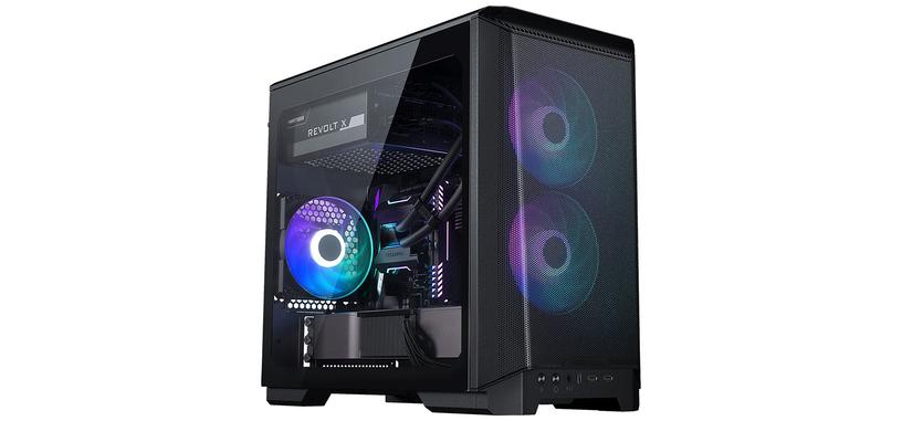 Phanteks presenta la caja Eclipse P200A para placas base mini-ITX