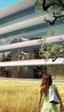 La zona de construcción del nuevo Apple Campus grabada desde un dron