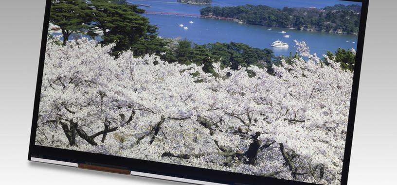 Presentan una nueva pantalla 4K de bajo consumo para tabletas