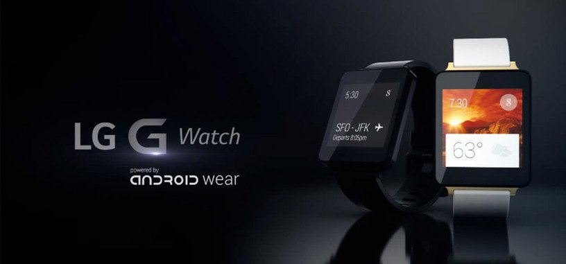 Un vistazo en vídeo al LG G Watch con Android Wear